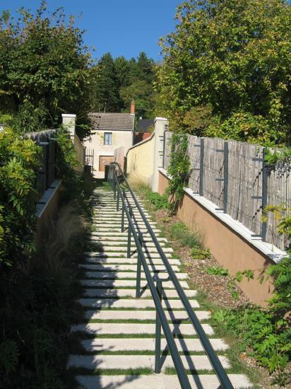 garde-corps métallique serrurerie métallerie matrat fontaine-lès-dijon