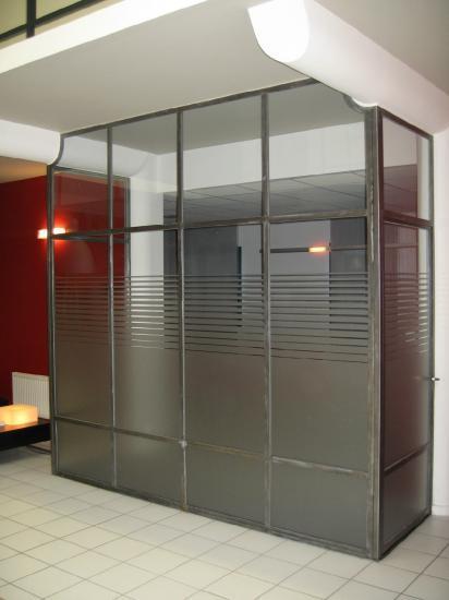 cloisons métalliques serrurerie métallerie matrat fontaine-lès-dijon (21)